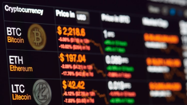 Visų kriptovaliutų kursai šiandien | Kriptovaliutų kainos